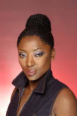 African Hair Braiding Natural Hair Styles DC MD VA - Ghana Braids Updo Hairstyles